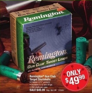 Remington Gun Club Target Shotshells