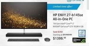HP ENVY 27-b145se All-in-One PC