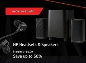 HP Headsets & Speakers