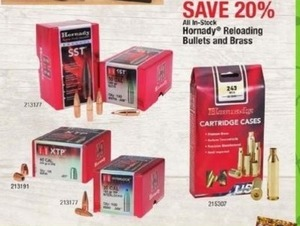 Hornady Reloading Bullets and Brass