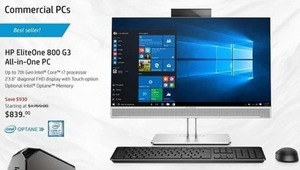 HP EliteOne 800 G3 All-in-One PC