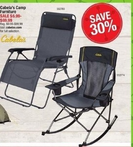 Cabala's Camp Furniture