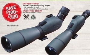 Vortex Viper HD Spotting Scopes