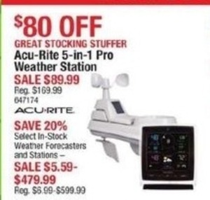 Acs-Rite 5-in-1 Pro Weather Station