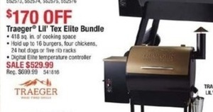 Traeger Lil' Tex Elite Bundle