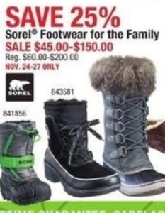 Sorel Footwear for the Family