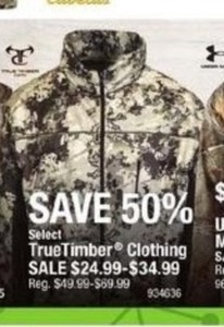 TrueTimber Clothing