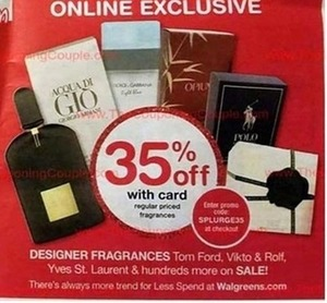Designer Fragrances - With Card