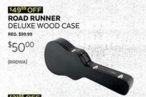 Road Runner Deluxe Wood Case