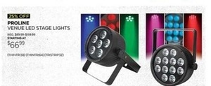 Proline Venue LED Stage Lights