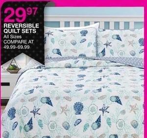 Reversible Quilt Sets