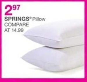 Springs Pillow