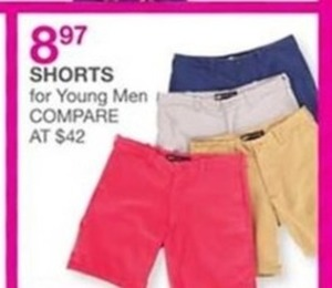 Young Men Shorts