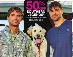 Southern Legends Sportswear for Men