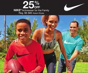 Select Nike Activewear Styles for the Family