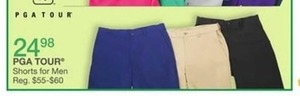 PGA Tour Shorts For Men
