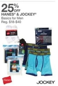 Hanes & Jockey Basics for Men