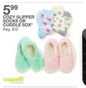 Cozy Slipper Socks or Cuddle Socks