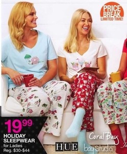 Holiday Sleepwear for Ladies