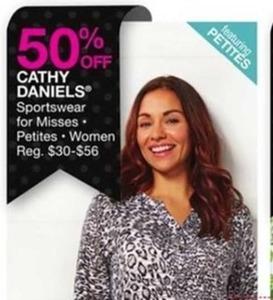 Cathy Daniels Women's Sportswear