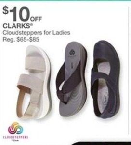 Clarks Cloudsteppers for Ladies