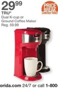 Dual K-Cup Or Ground Coffee Maker