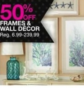Frames & Wall Decor