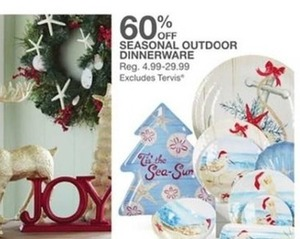 Seasonal Outdoor Dinnerware