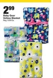 Baby Gear Velboa Blanket