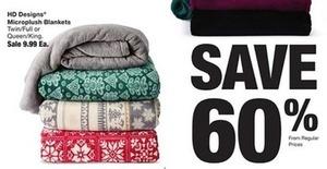 HD Designs Microplush Blankets