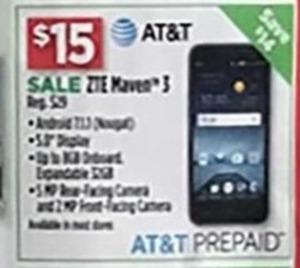 AT&T ZTE Maveo 3 Prepaid