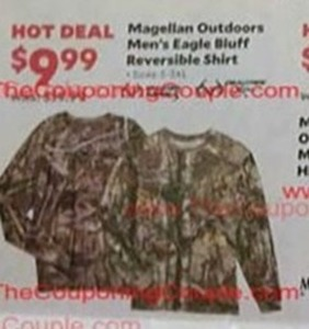 Men's Magellan Outdoors Eagle Bluff Reversible Shirt