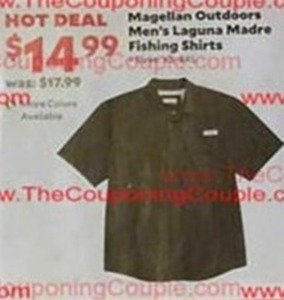Magellan Outdoors Men's Laguna Madre Fishing Shirts