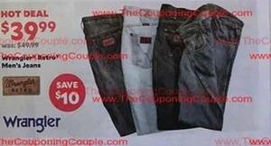 Men's Retro Wrangler Jeans