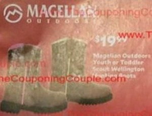 Magelian Outdoors Youth Or Toddler Scout Wellington Hunting Boots