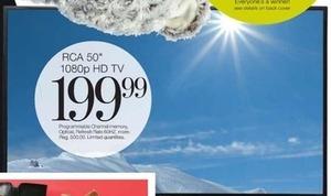 """RCA 50"""" 1080p HD Tv"""