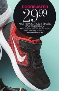 Doorbuster - Nike Revolution 3 Shoes