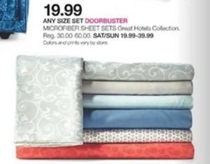 Any Size Microfiber Sheet Sets