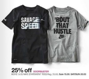 Nike Statement Tees for Boys