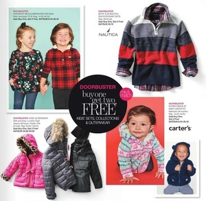 Entire Stock Infant Carters Apparel