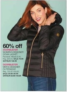 Women's Designer Down Jacket