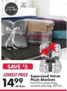 Supersized Velvet Plush Blankets