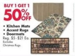 Kitchen Mats, Accent Rugs, Doormats
