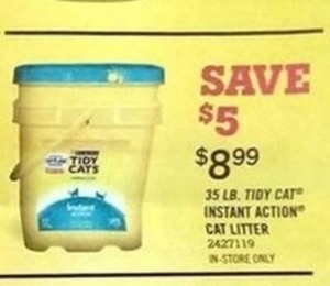 Tidy Cat 35-lb Instant Action Cat Litter