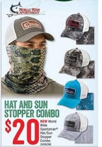 Hat and Sun Stopper Combo