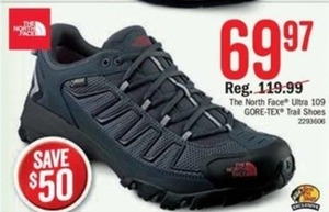 The North Face Ultra 109 GORE-TEX Trail Shoes