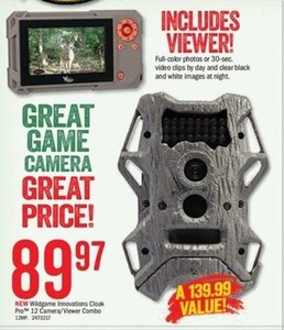 Wildgame Innovations Cloak Pro 12 Camera/Viewer Combo