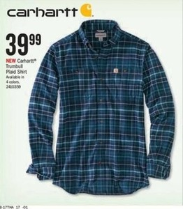 Carhartt Trumbull Plaid Shirt