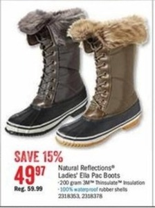 Natural Reflections Women's Ella Pac Boots