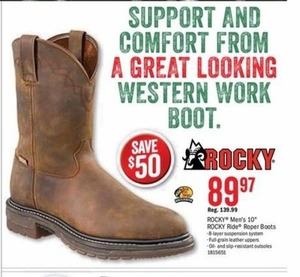 Select Rocky Men's Boots